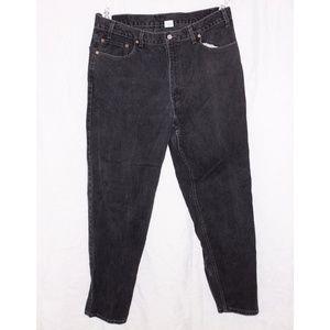 Levi's 505 Black Denim Jeans